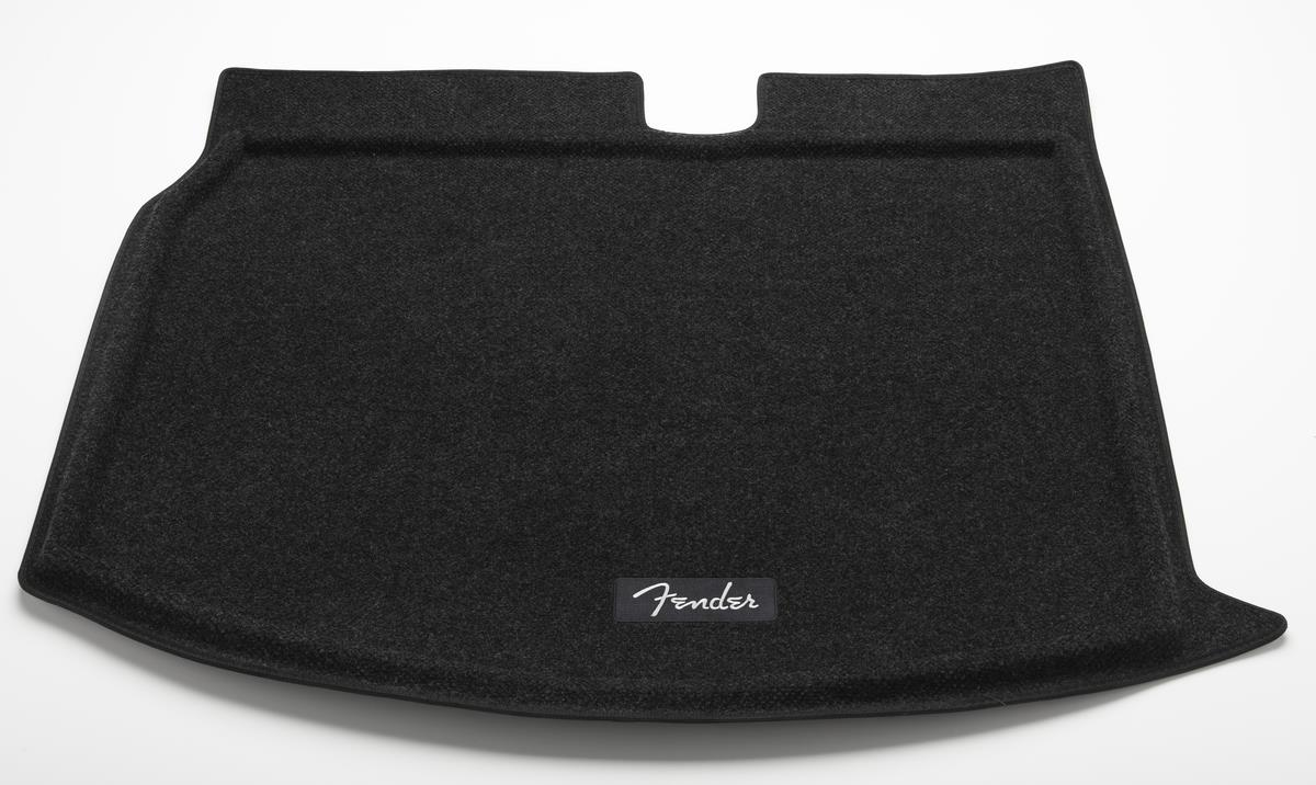 Diagram Heavy Duty Trunk Liner with Cargo Blocks - Fender Edition - Black (5C0061166B469) for your 2014 Volkswagen Golf